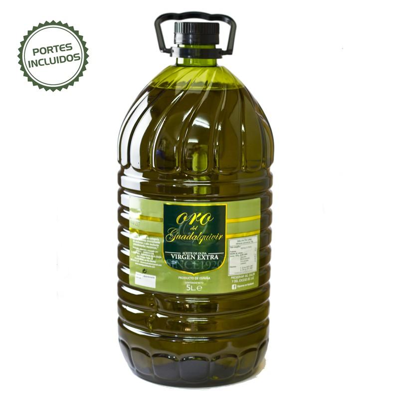 Precio garrafa aceite oliva 5 litros