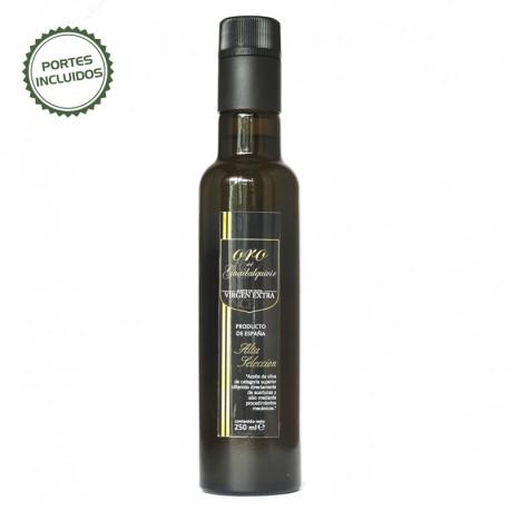 Botella de Cristal de Aceite Premium de 0,25 litros