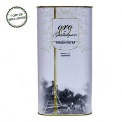 Lata 5 litros de aceite de oliva virgen extra